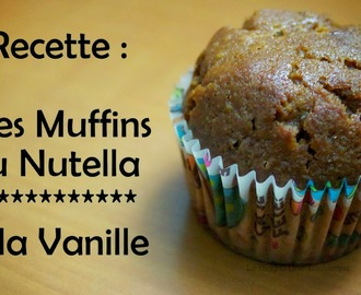 Mes Muffins Nutella / Vanille