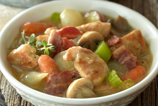 Soup Special of the Day!……Rustic Turkey Stew