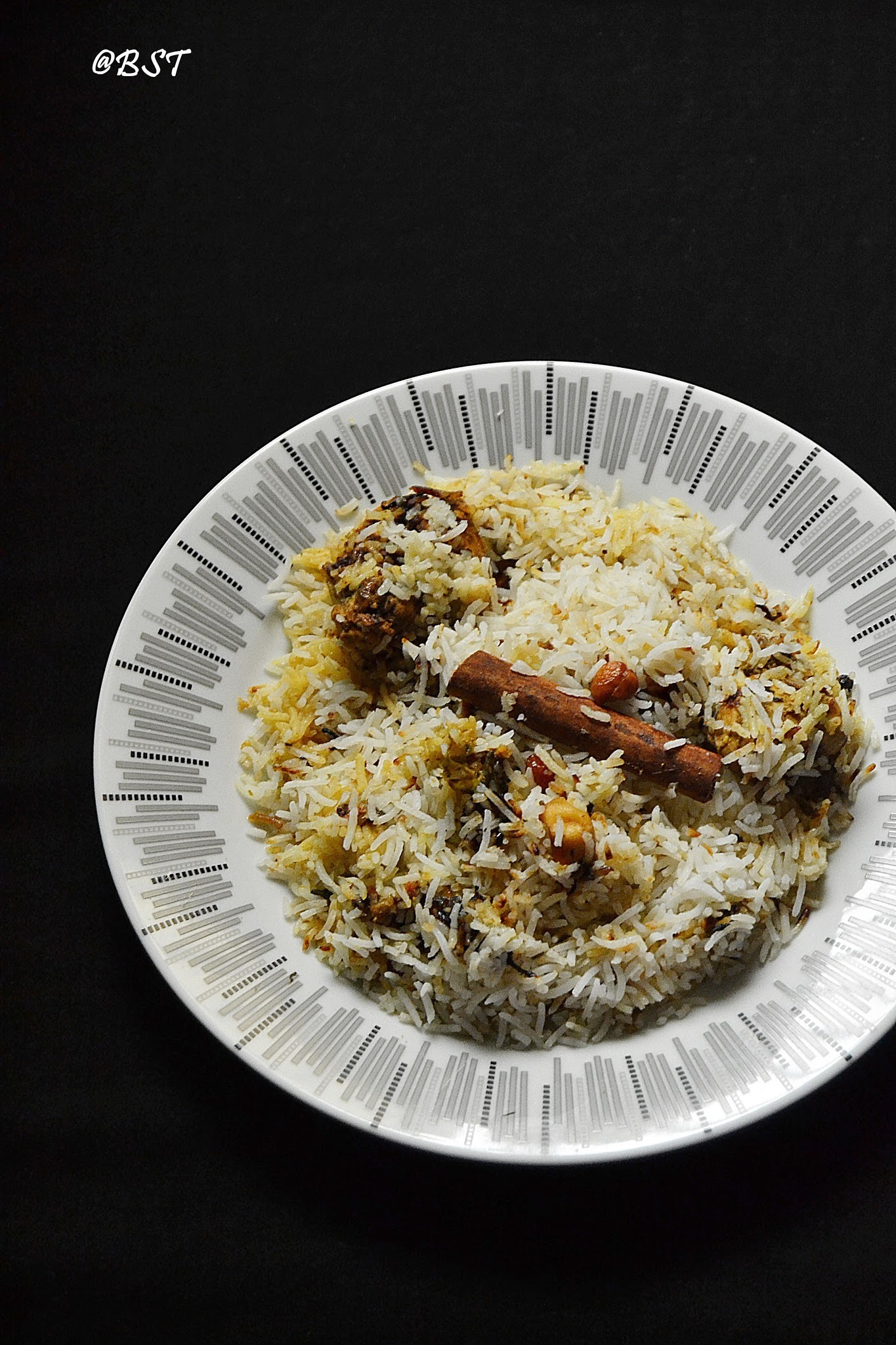 Travancore Style Chicken Biriyani