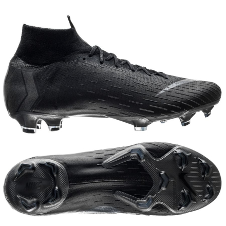Nike Mercurial Superfly 6 Elite FG Stealth Ops - Svart