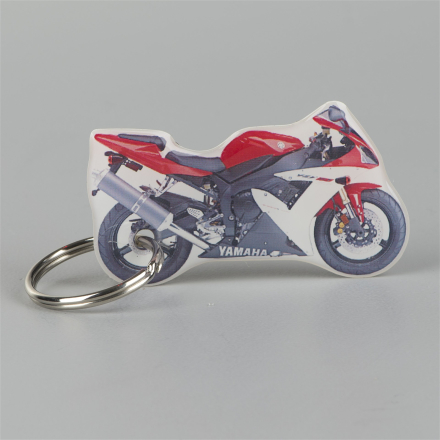 Nyckelring One Design Yamaha R1 Rosso