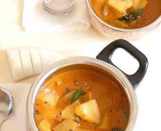 Mangalore Cucumber Coconut Curry Recipe