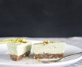 Mini Coconut & Lime 'Cheesecakes'