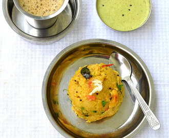 Khara Bath Recipe-South Indian Breakfast Recipes