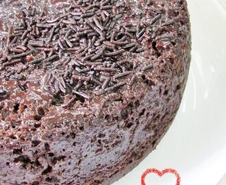 Steamed Chocolate Cake - Easy Cake Recipes