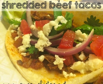 A Flavorful Way To Spice Up Taco Tuesday – Easy Crockpot Shredded Beef Tacos Recipe