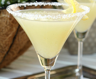 The Best Lemon Drop Martini…has Vanilla Bean!