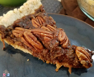 Chocolate Coconut Vegan Pecan Pie