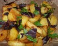 FRIED POTATOES WITH SVANETIAN SALT