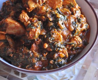 Fresh Methi Leaves Chicken Recipe – Murgh Methi