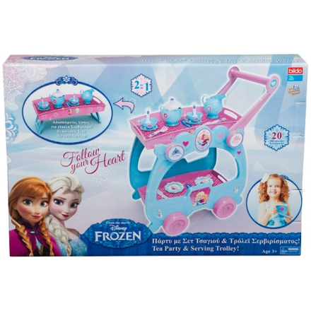 Tea Party Trolley, Disney Frozen
