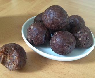 Maca Brownie Bites