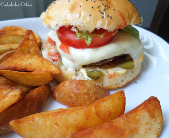 Hamburgers 100 % home made