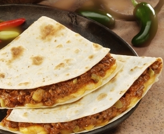 Quesadillas Estilo Tex-Mex