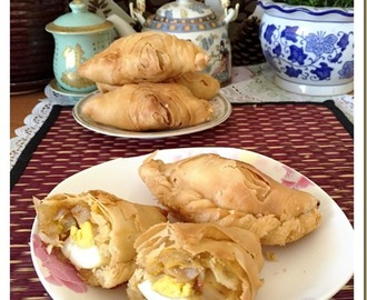 """Nonya"" Curry Puff ?–Flaky or Spiral Curry Puffs(脆皮咖喱卜)"