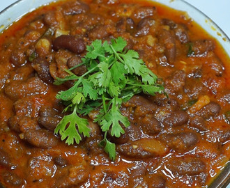 Rajma beans masala curry