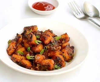Idli Manchurian Recipe-Leftover Idli Recipes