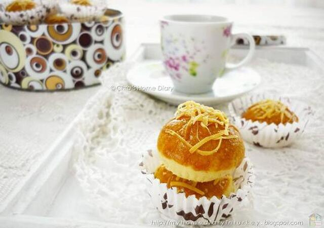 Nastar isi keju / Cheesy tarts cookies~melt in your mouth