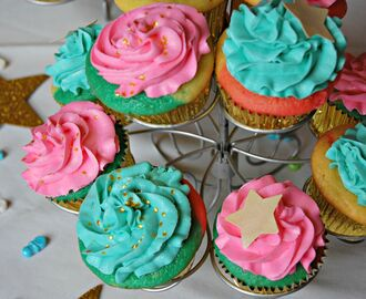 DIY Tie Dye Cupcakes and a Baby Shower!