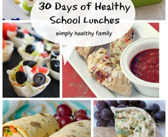 30 Days of Healthy, Simple Back to School Lunch Box Ideas