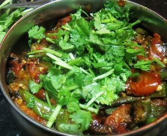 Lady Finger - Tomato Curry