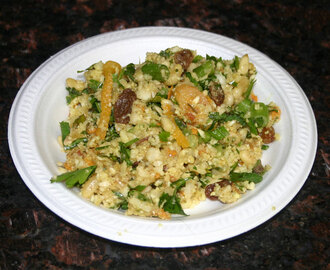 "Moroccan Cauliflower ""Couscous"" Salad – AIP/Paleo/Vegan"