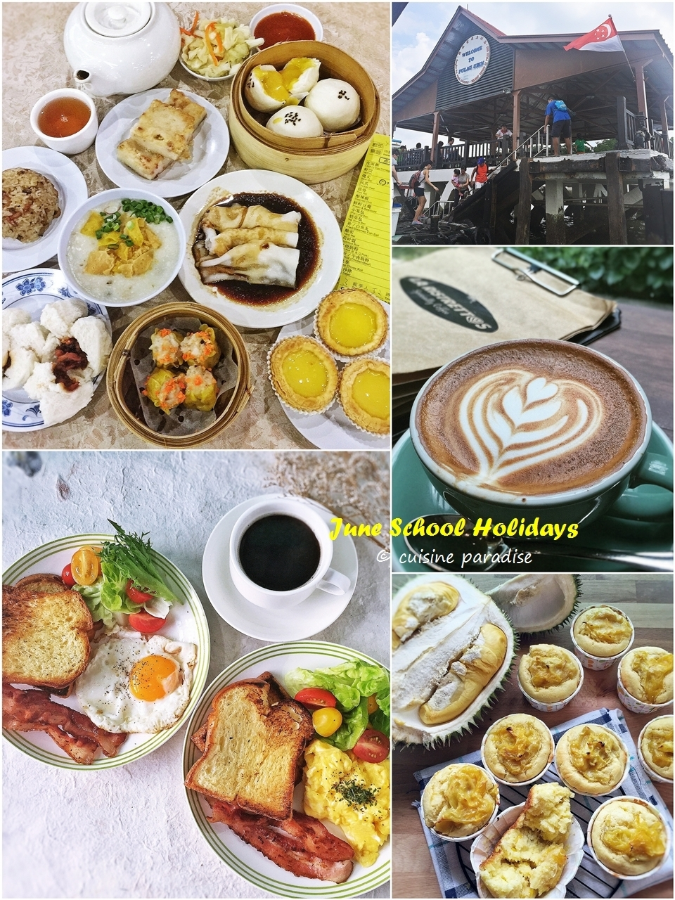 [June School Holidays: Week 4] Pulau Ubin, Food Hunt and Recipes