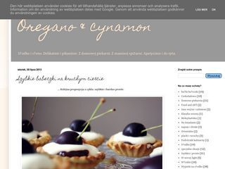 Oregano i cynamon