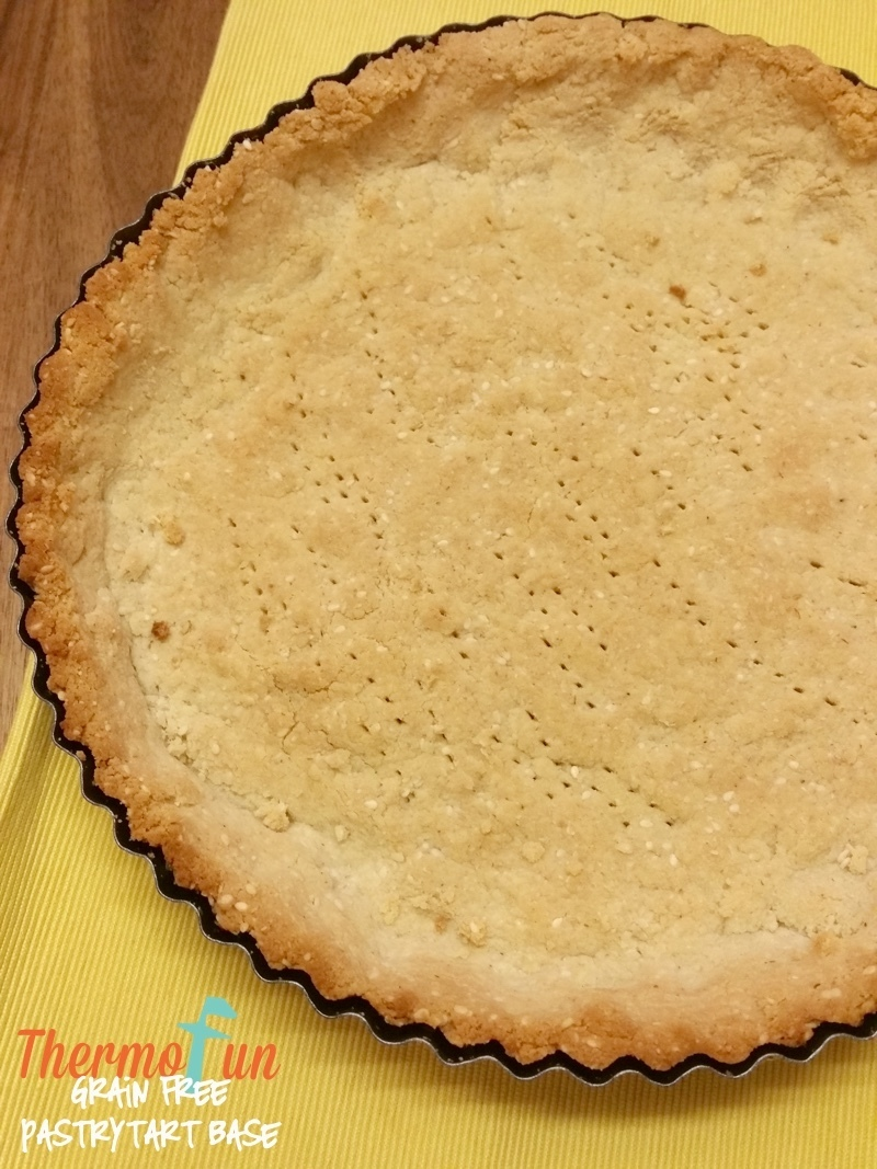 Thermomix Grain Free Pastry Tart Base