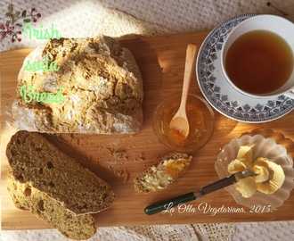 Irish soda bread (Pan irlandés).-