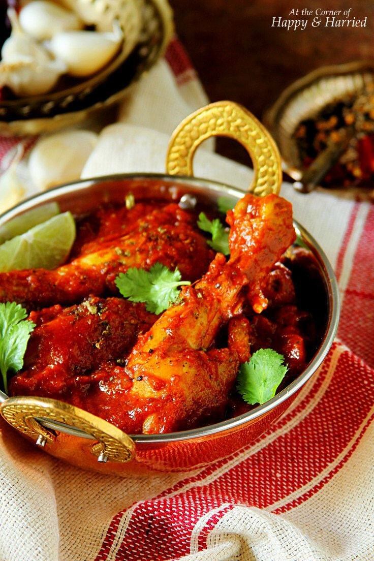 Achari Murgh {Chicken In Pickling Spices}