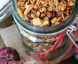 A Weekend in Big Bear Lake and Reduced Sugar Slow Cooker Granola