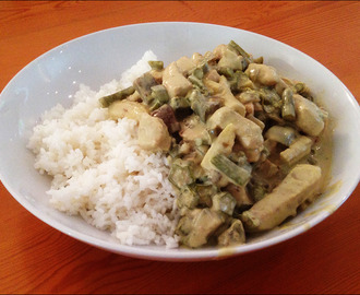 Thaï Green Curry with Chicken