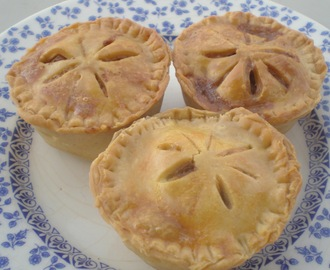 TARTALETAS DE POLLO AL CURRY {Chicken curry pot pies}
