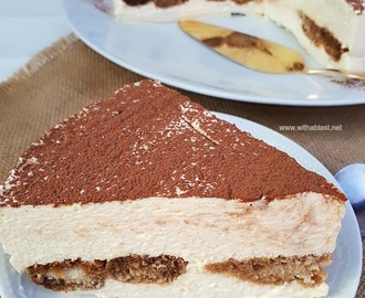 Tiramisu Cheesecake (No-Bake)