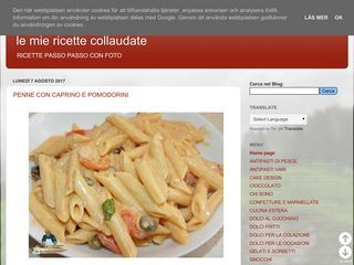 le mie ricette collaudate