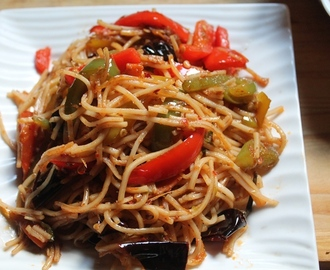 Chilli Garlic Noodles Recipe - Spicy Chinese Chilli Garlic Noodles Recipe