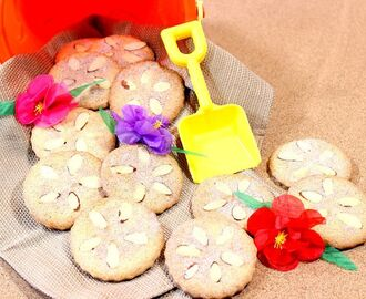 Cinnamon Sugar Sand Dollar Cookies and a Luau