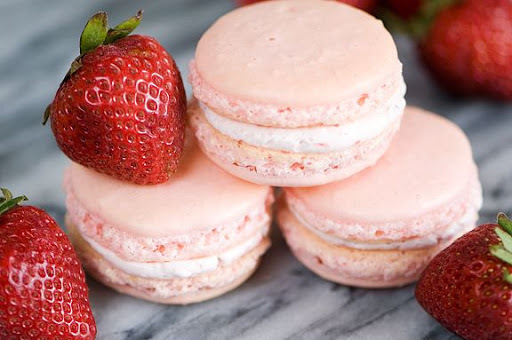 Resep Membuat Kue Kering Macaroon Rasa Strawberry