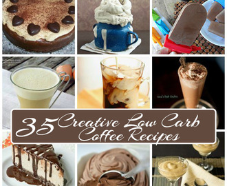 35 Creative Low Carb Coffee Recipes
