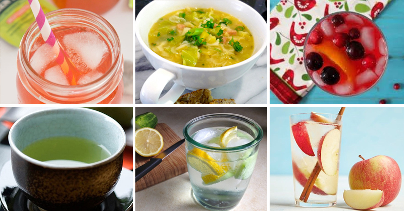 Homemade Detox Drink Recipes