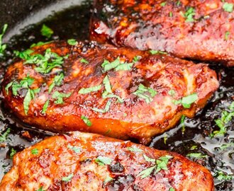 Korean Style Pork Chops
