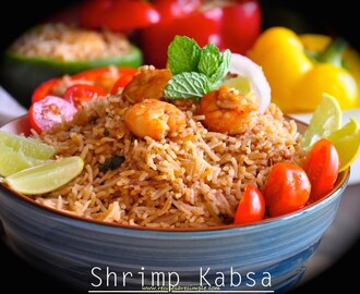 Shrimp Kabsa – Arabian Fragrant Rice