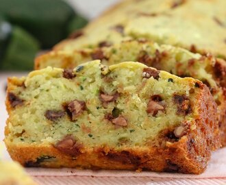 Chocolate Chip Zucchini Bread | Healthier Recipe