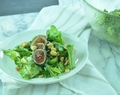 Arugula Salad with Fresh Figs and Peanuts