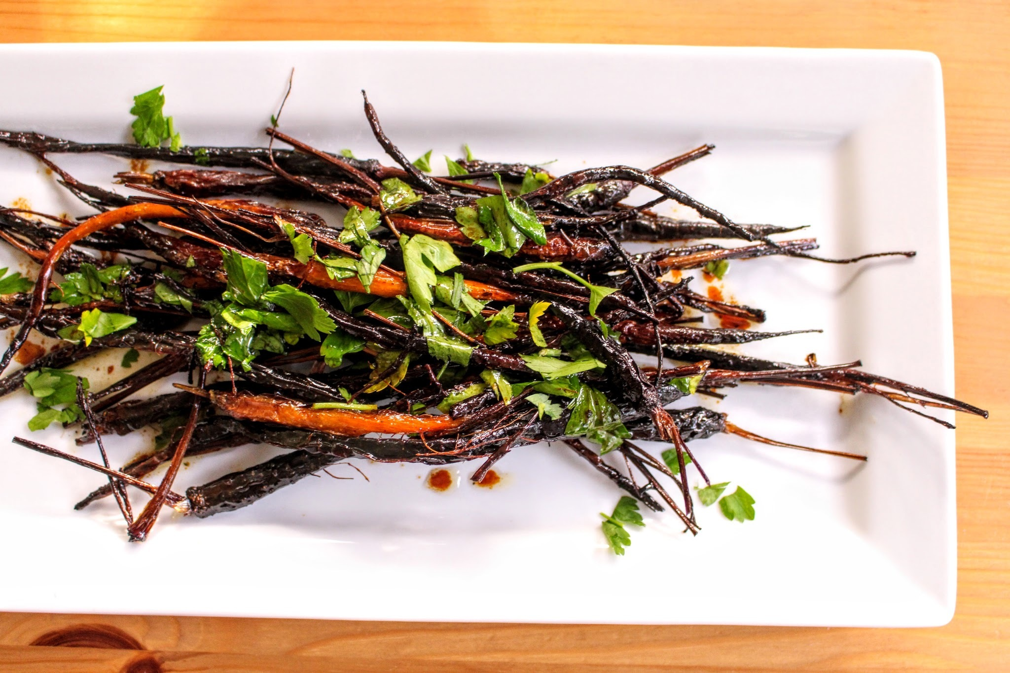 Truffle Honey Roasted Carrots