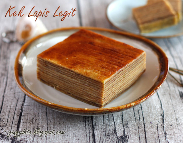 Kek Lapis Legit / Thousand Layer Cake 印尼千层糕