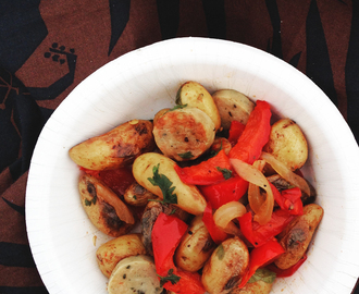 Sausage Peppers and Potatoes