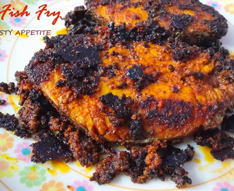 Vanjaram Fish Fry Recipe / King Fish Fry / Seer Fish Fry