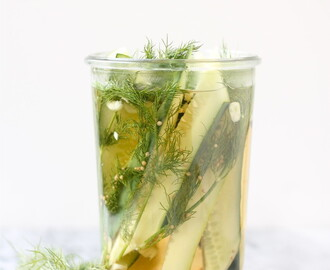 Easy Crisp Fridge Dill Pickles